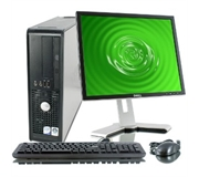 Dell Optiplex 780 Core 2 Duo 2.93 Ghz Quad Core PC + 20 Inch Monitor