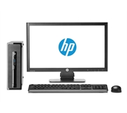 HP EliteDesk 800 G1 I5 2.9 GHz Quad Core Ultra Small PC + 22 Inch Monitor