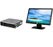 Hewlett Packard 8300 Elite I3 3rd Gen 3.3 Ghz Dual Core Ultra Small PC Unit + 20 Inch Monitor