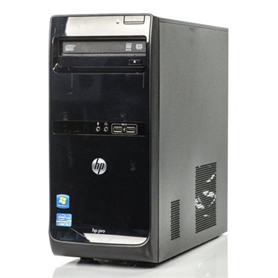 Hewlett Packard Pro 3400 MT Intel Pentium Dual Core 2.7 Ghz Tower + 19 Inch Monitor