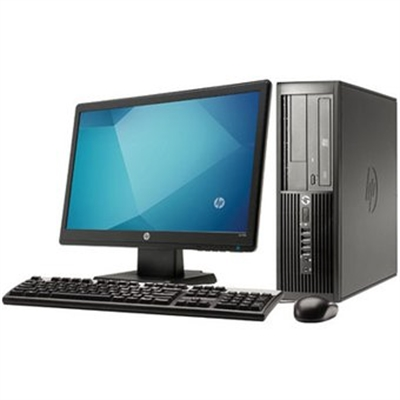 Hewlett Packard 4300 I3 3rd Gen 3.3 Ghz Dual Core PC Unit + 20 Inch Monitor